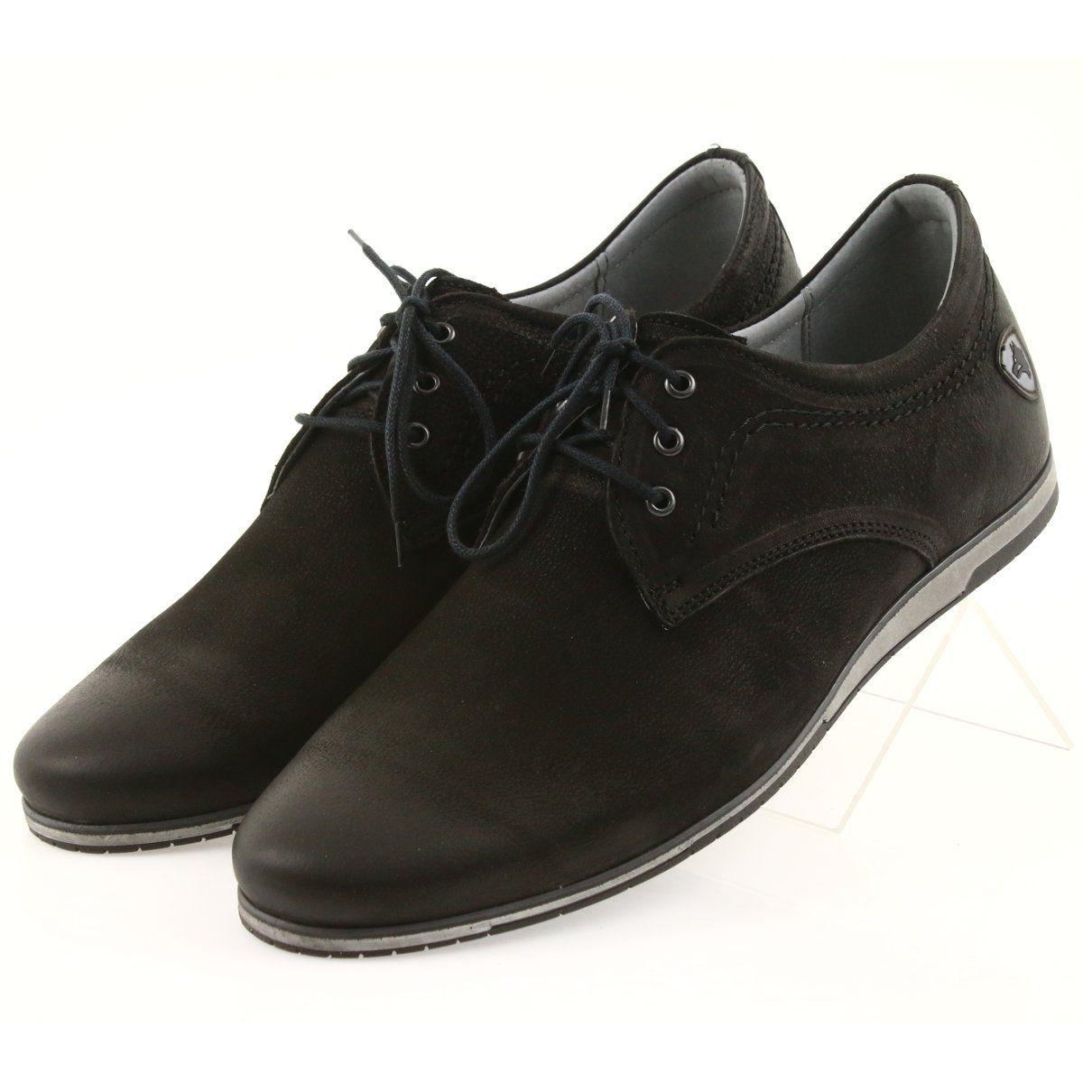 Polbuty Meskie Riko Riko Polbuty Meskie Sportowe 877 Czarne Dress Shoes Men Shoes Shoes Mens