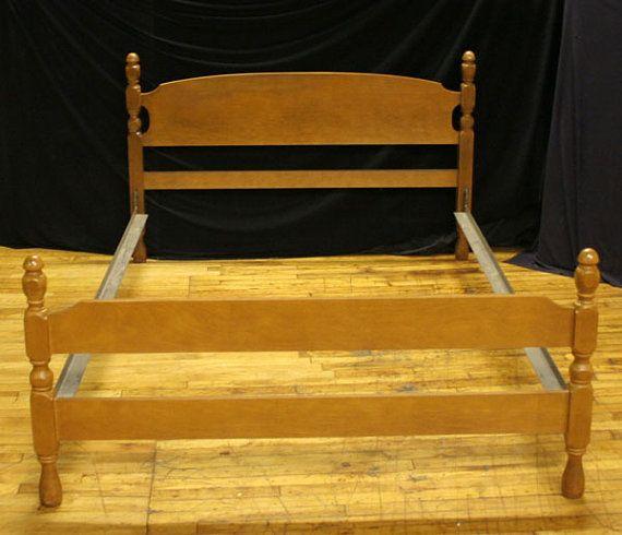 Country Style Full Size Headboard & Footboard W/ by ScrantonAttic, $214.99