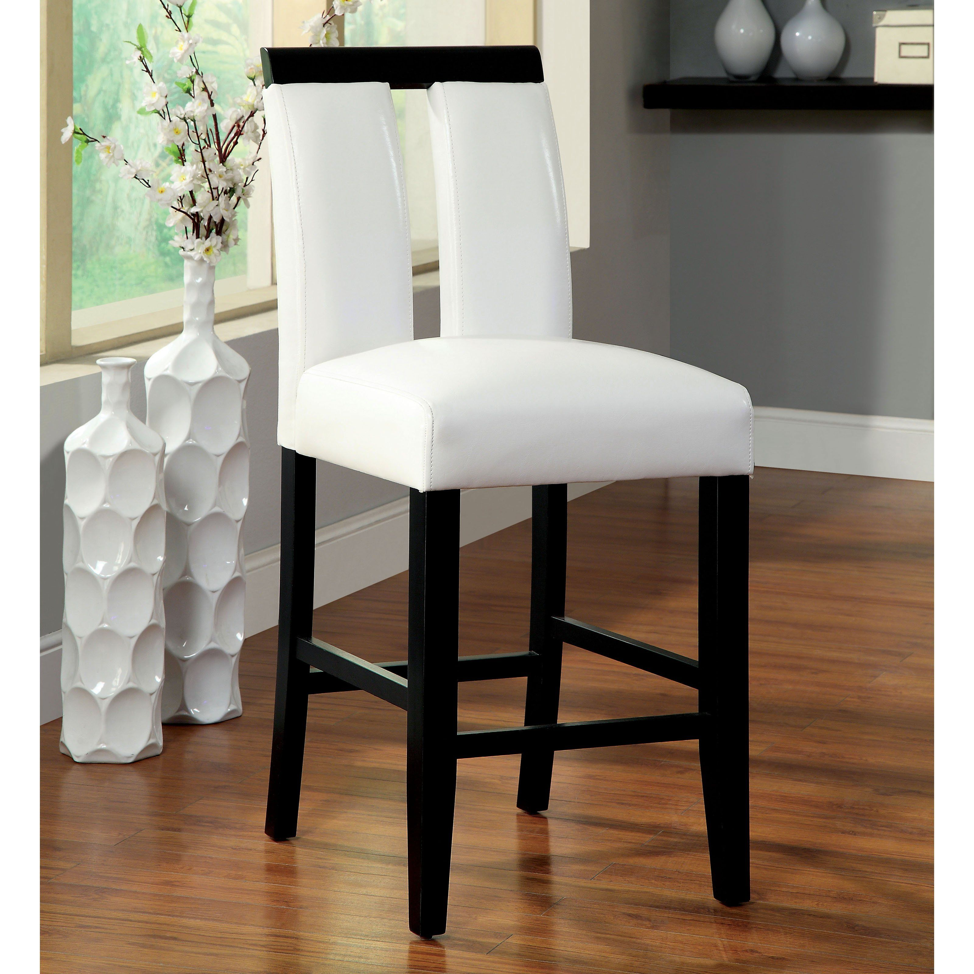 Exceptionnel Furniture Of America Luminate Contemporary Counter Height Chairs   Set Of 2  | From Hayneedle.