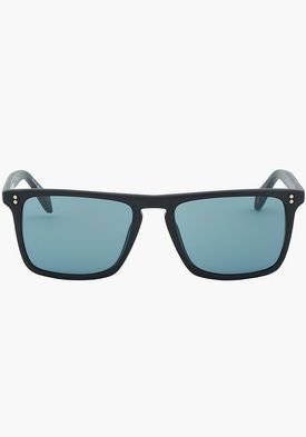 2307c9db04 Matte Black Square Bernardo Sunglasses by Oliver Peoples | Pronto ...