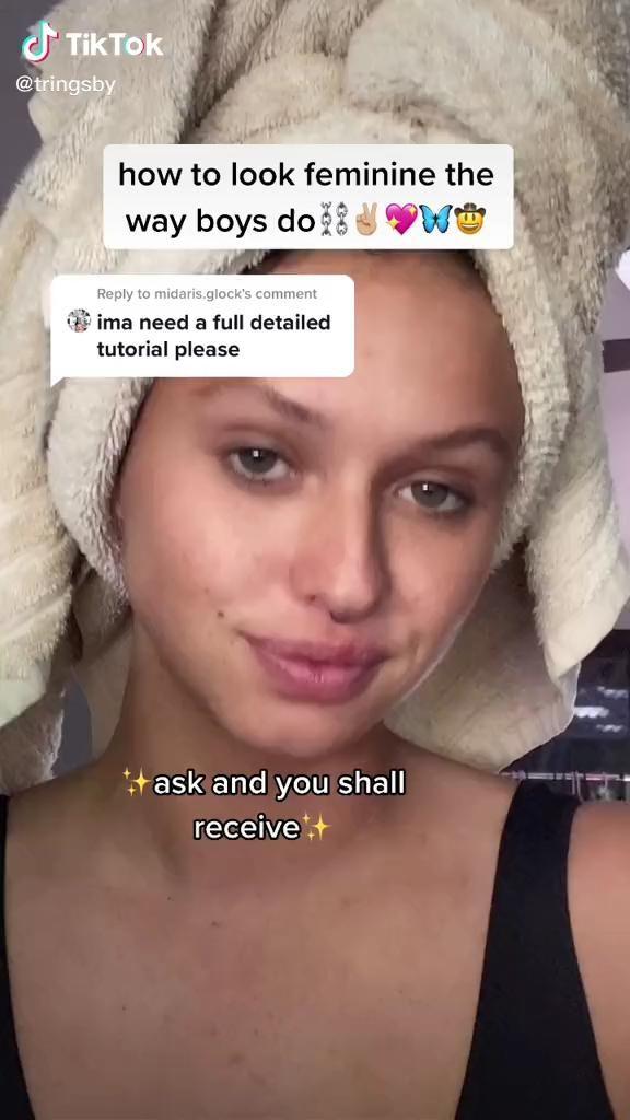 How To Look Feminine The Way Boys Do Video In 2021 Androgynous Makeup Makeup Inspiration Grunge Makeup