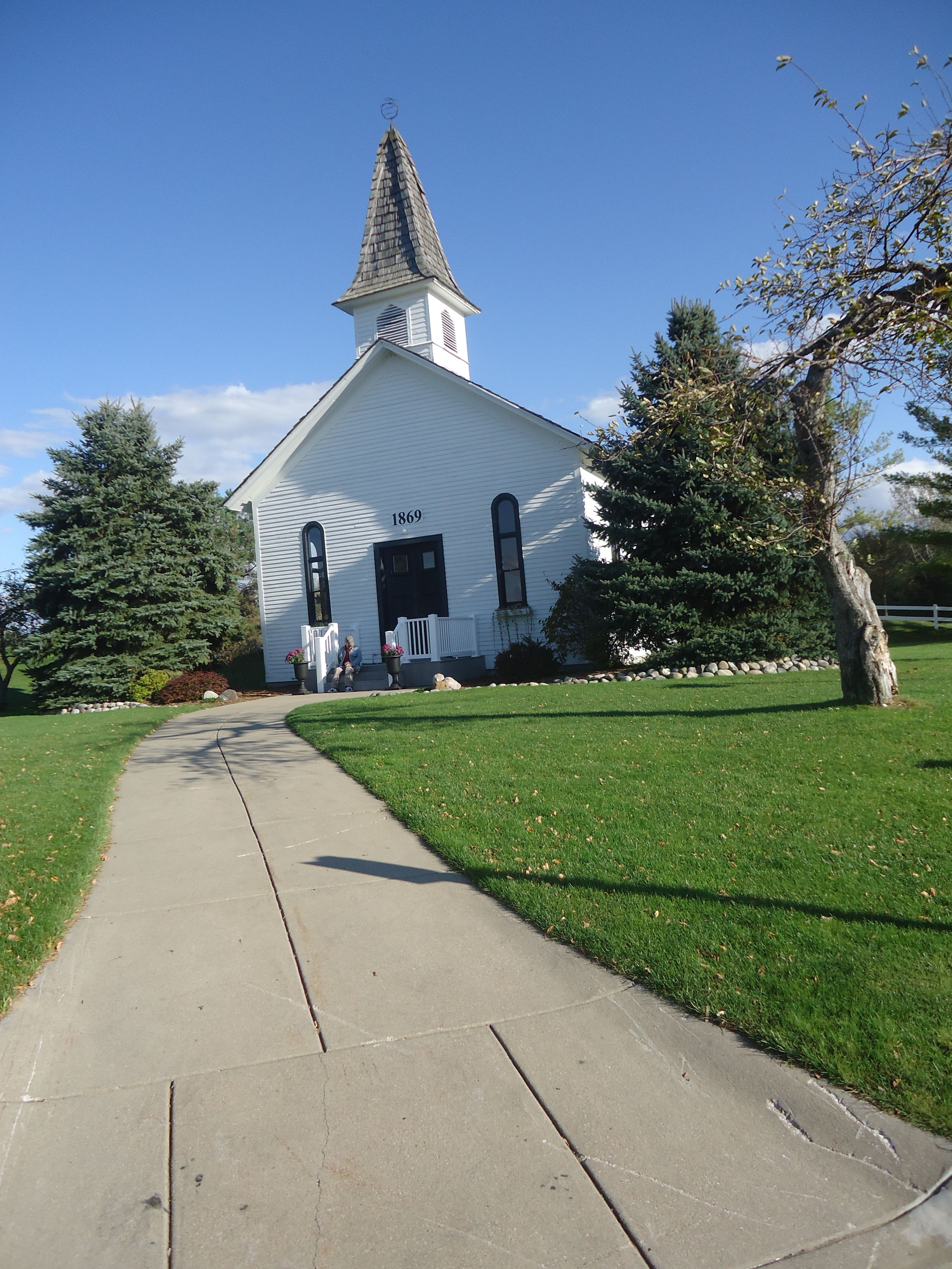 chapel built in 1869, and later moved to apple mountain golf and ski