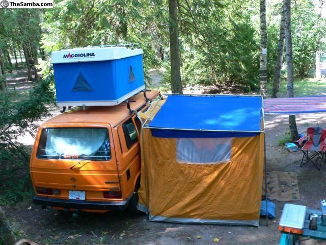 westfalia side tent - Google Search & westfalia side tent - Google Search | adventure | Van tent ...