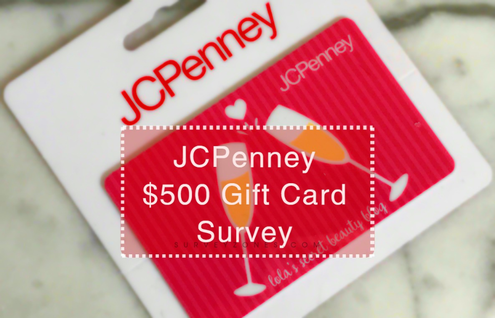 Jcpenney Survey Talktojcpenney Com Get 15 Off Enter Sweepstakes 500 Gift Card Jcpenney Gifts Surveys Enter Sweepstakes