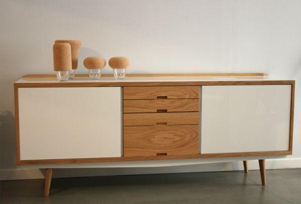 Une Enfilade Scandinave Pourquoi Ne Pas Donner Un Look Design A Votre Interieur Archzine Fr Enfilade Scandinave Enfilade Buffet Design