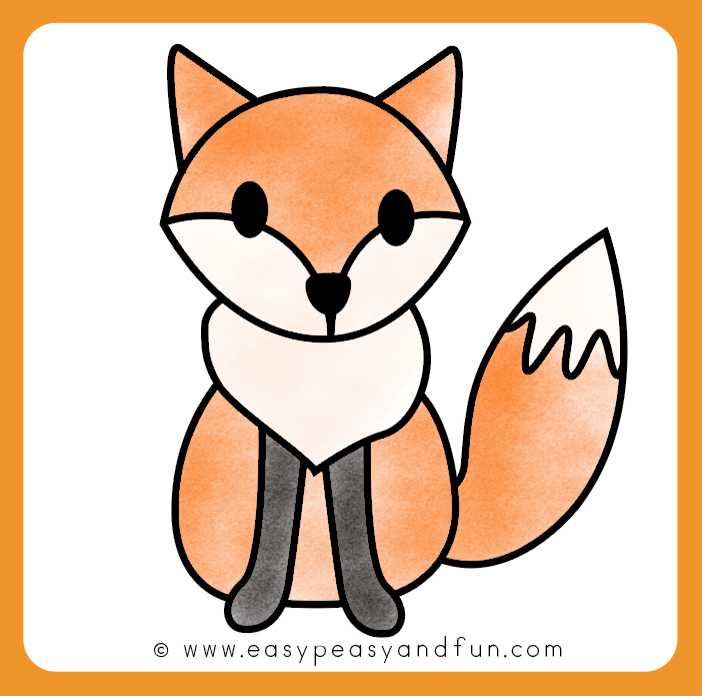How To Draw A Fox Step By Step Fox Drawing Tutorial With Images