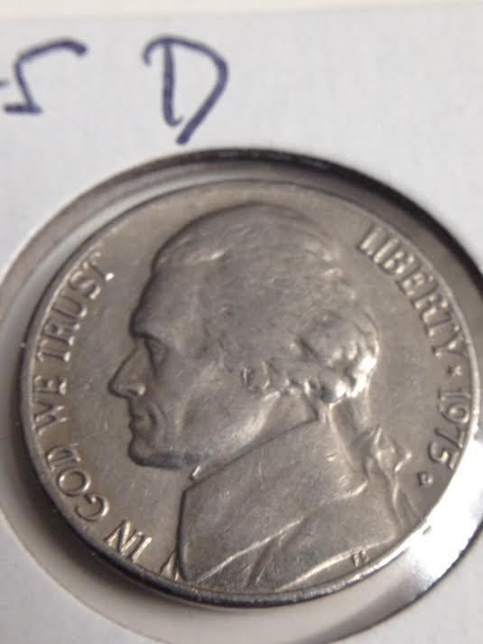 Details about 1975 D Jefferson Nickel | Collectible Coins for Sale