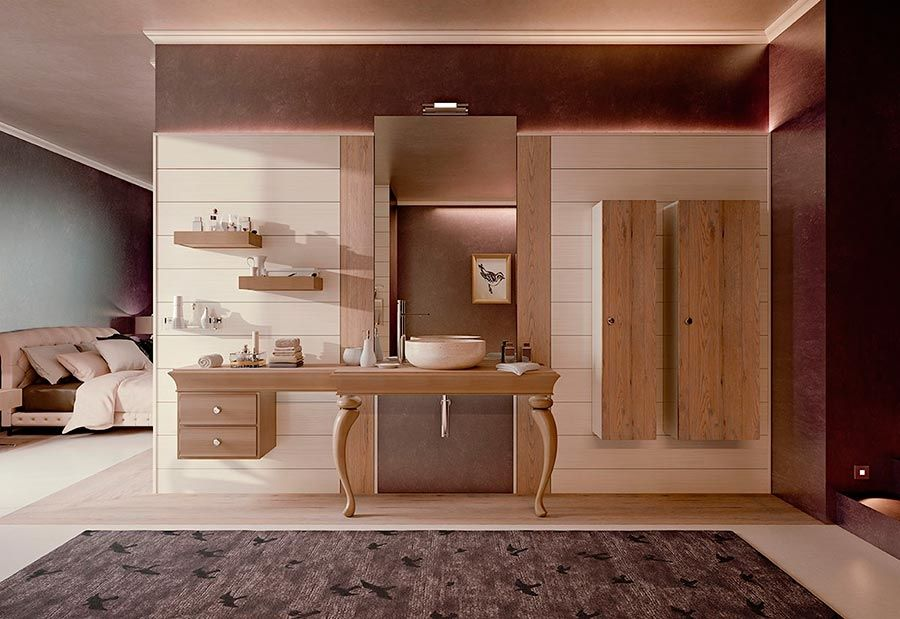 Accessori Da Bagno Di Lusso : Arredamenti mobili da bagno moderni di lusso con accessori bagno