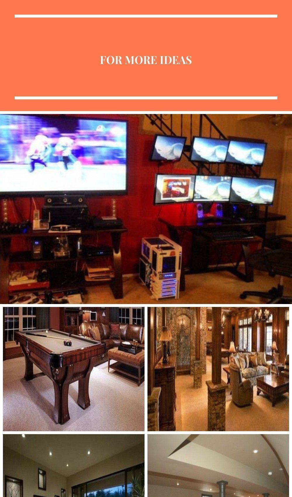 Photo of Rob Schatz's #Gaming Setup #Recreational Room #Recreational Room #Cabinets,  #Ca…