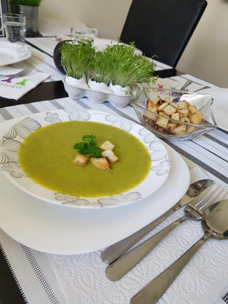 Cukiniowa zupka