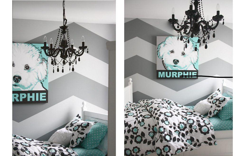 Otra original idea con la que pintar tus paredes - Paredes pintadas originales ...