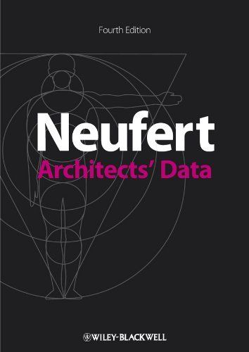 Architects' Data by Ernst Neufert  | URBAN DESIGN LITERATURE