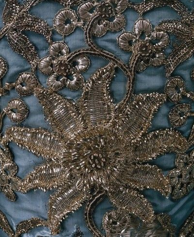 Details of one of Margaerys gowns