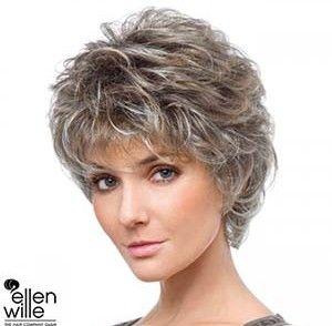 Weibliche Kurzhaarschnitt Frisuren Stil Haar Coupe De Cheveux Courte Cheveux Courts Cheveux Courts Frises