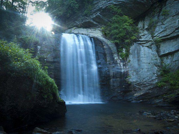 3. Looking Glass Falls | North carolina travel, Camping in ...