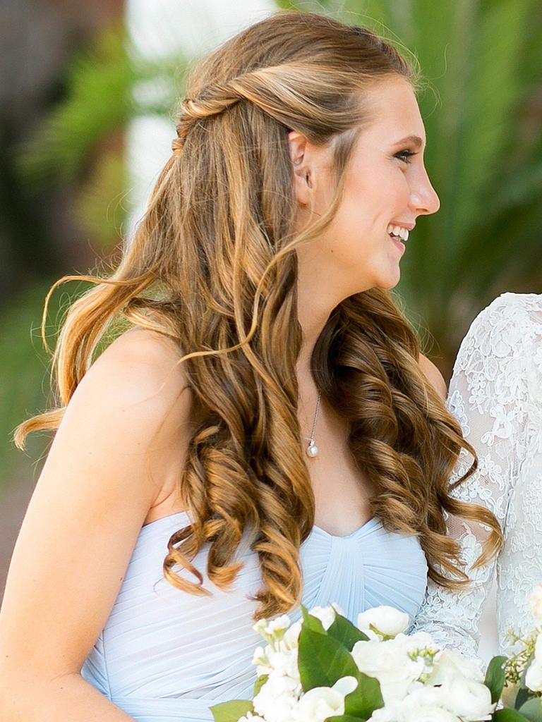 15 best bridesmaid hairstyles for a strapless dress | hair