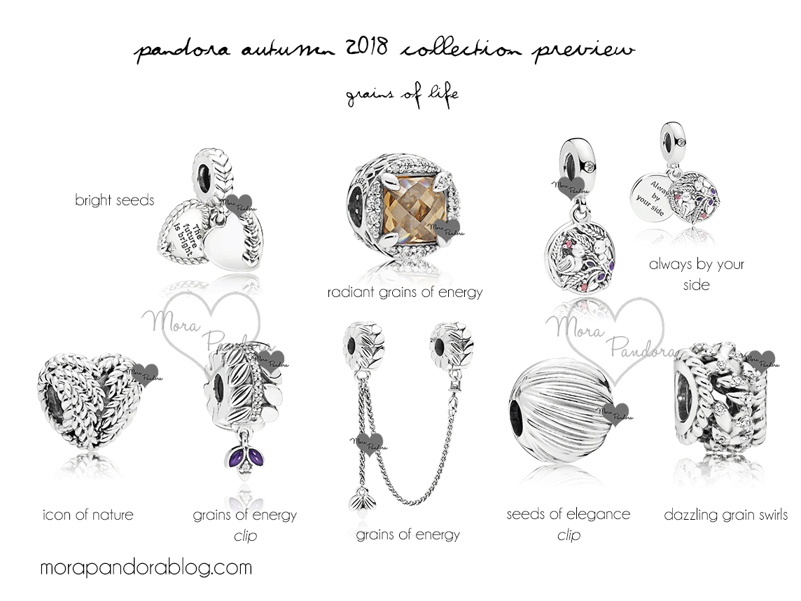 866872b4e Pandora Autumn 2018 collection preview | Pandora | Pandora, Mora ...