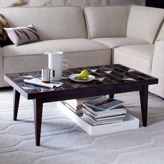 Lubna Chowdhary Tiled Coffee Table Modern Furniture Sale U0026 Home Furnishings  Sale