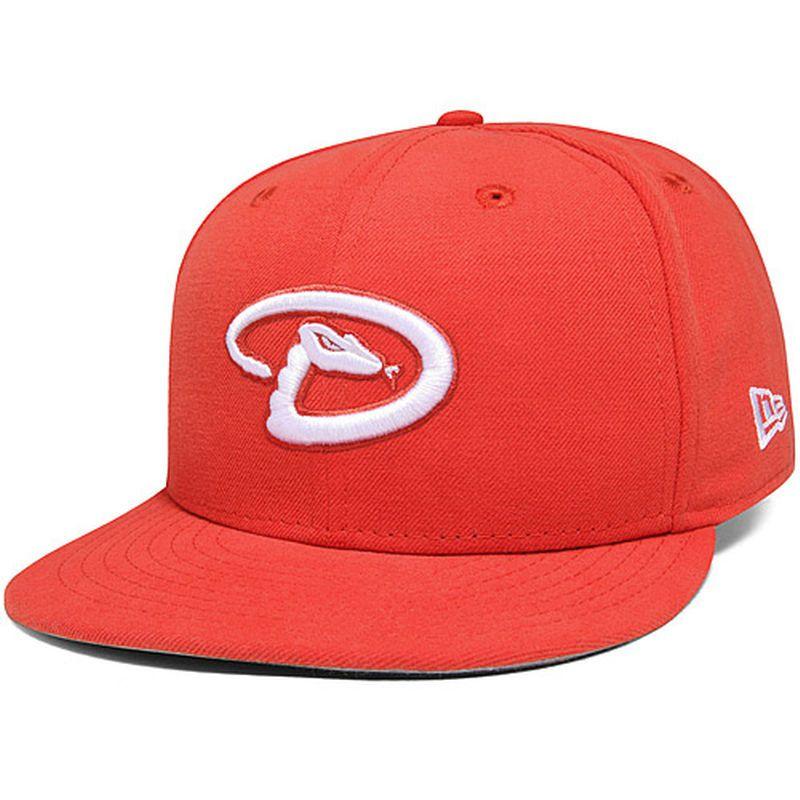 Arizona Diamondbacks New Era Basic 59FIFTY Fitted Hat - Glaze Red ... f4b6e52f2001