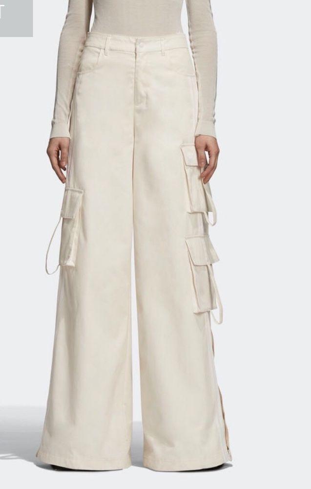 Adidas Originals Danielle Cathari adibreak pantalones cargo blanco tiza