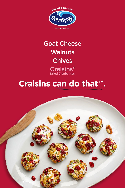 Savory Goat Cheese Bites