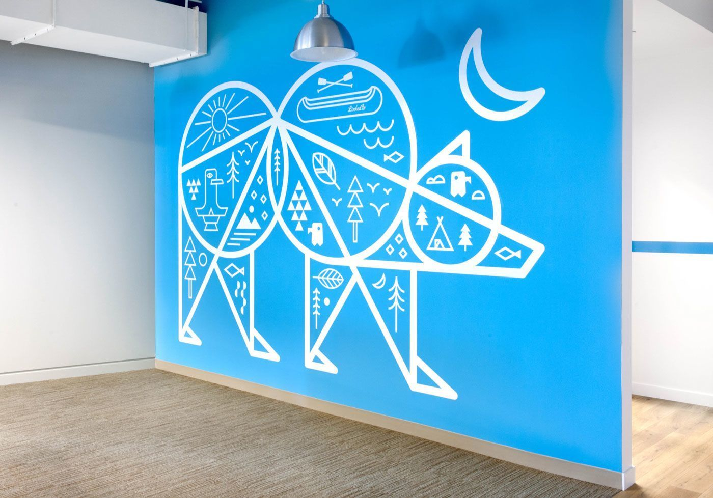 """Rapt Studio, an award-winning design firmrecently composed a series of cool installations for theLinkedIn Headquarters in Mountain View, California. """"The concept; embrace a different theme, for each of their five ... Read More"""