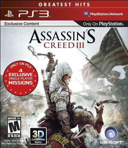 Amazon Com Assassin S Creed Iii Playstation 3 Video Games Assassins Creed Assassins Creed 3 Assassin