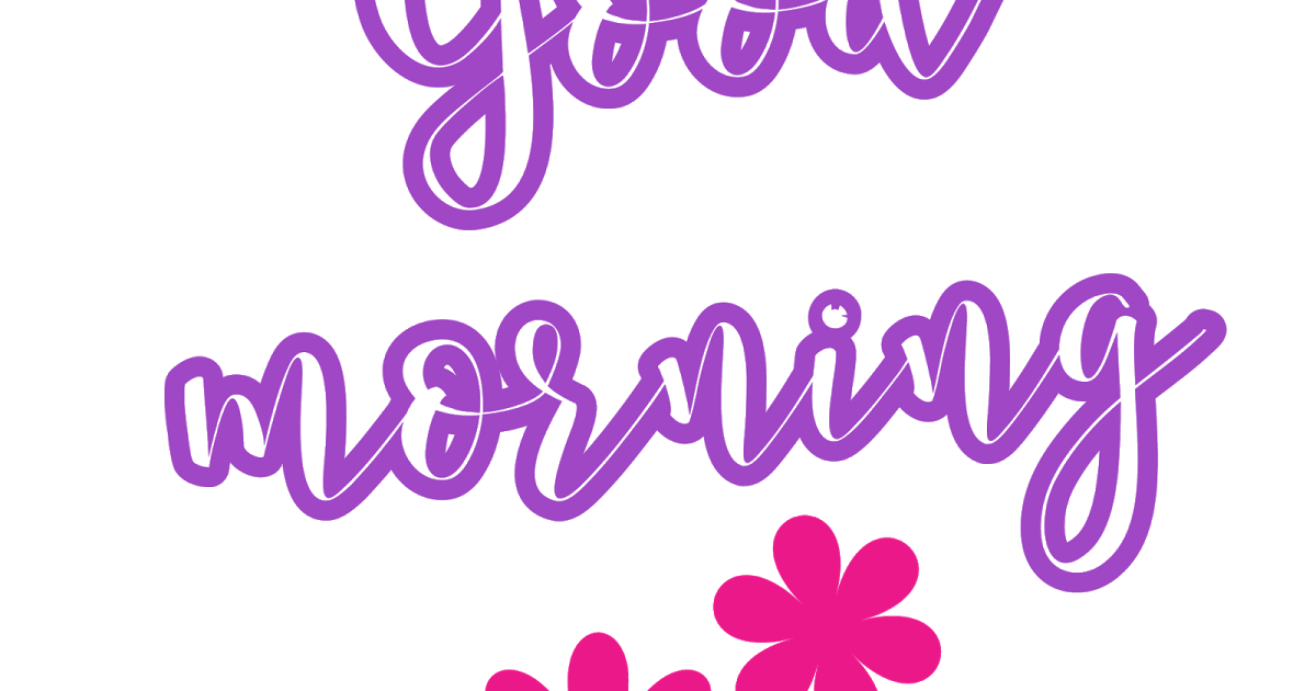 WhatsApp stickers good morning transparent png images