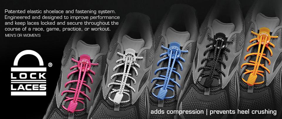 Lock Laces | No Tie Elastic Shoe Laces