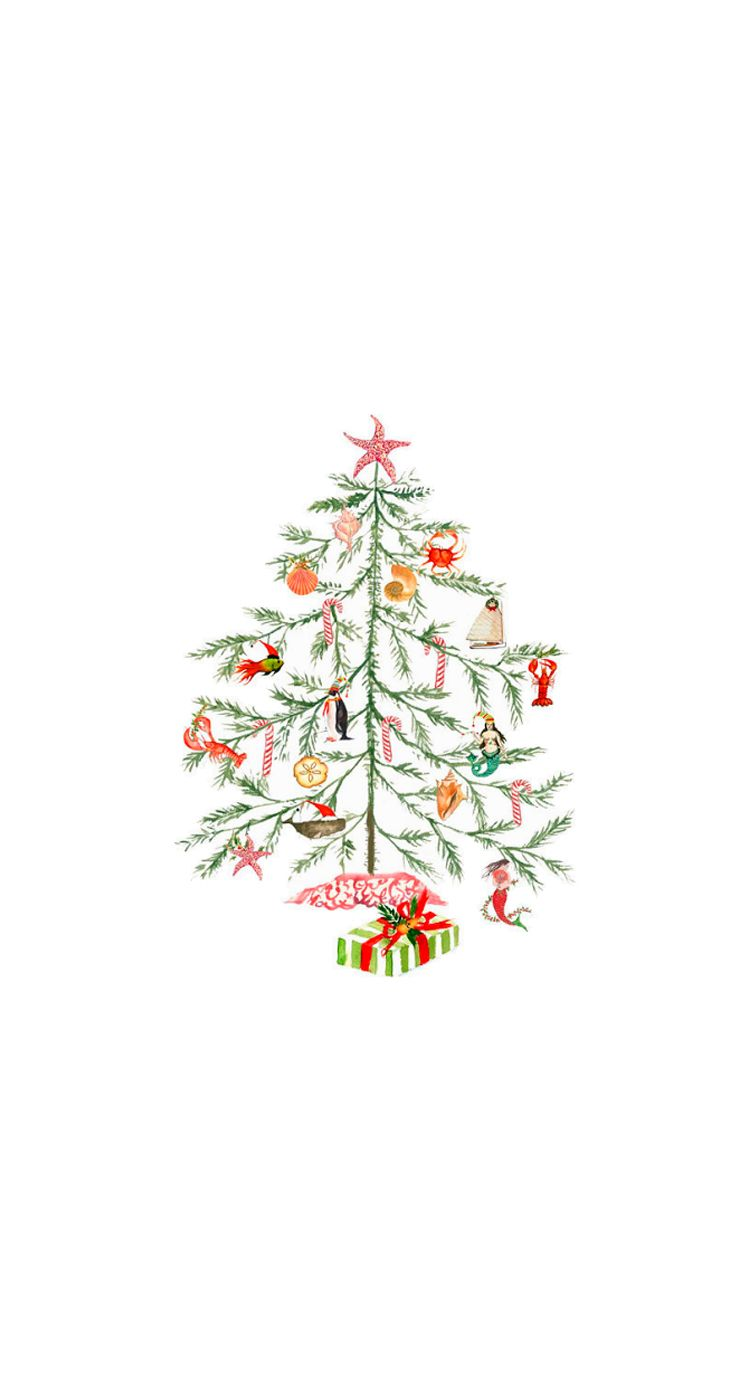 Christmas tree festive christmas wallpaper xmas - Christmas iphone backgrounds tumblr ...