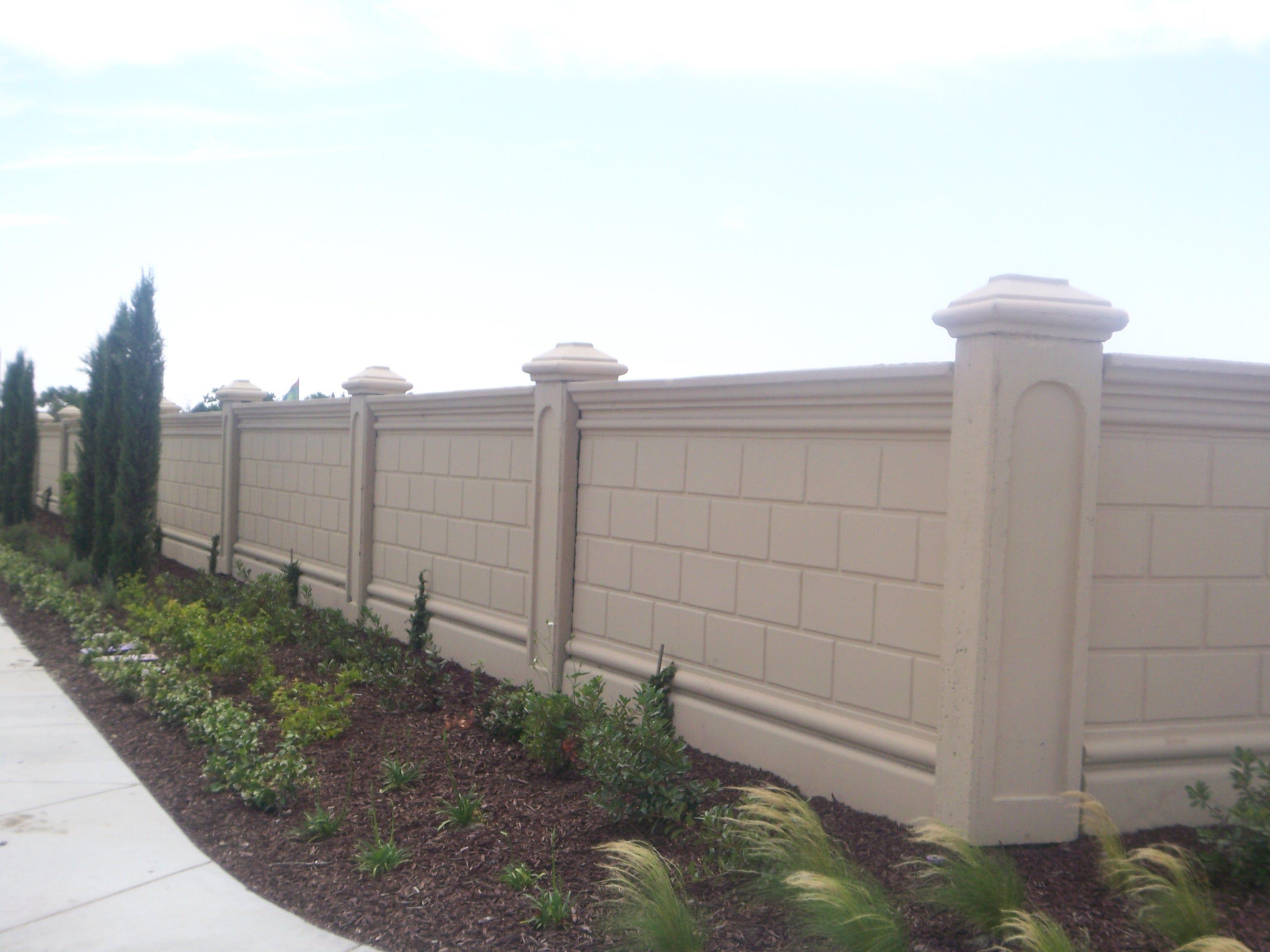 Precast Concrete Fence Panels Residential Di 2020 Denah Rumah