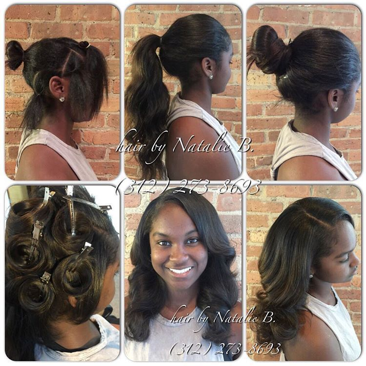 Lace Frontal Free Part Wigs Synthetic Hair With Baby Hair Weave Hairstyles Hair Styles Hair