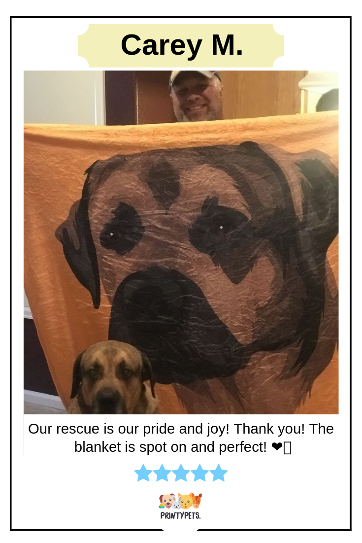 Our Rescue Is Our Pride And Joy Thank You The Blanket Is Spot On