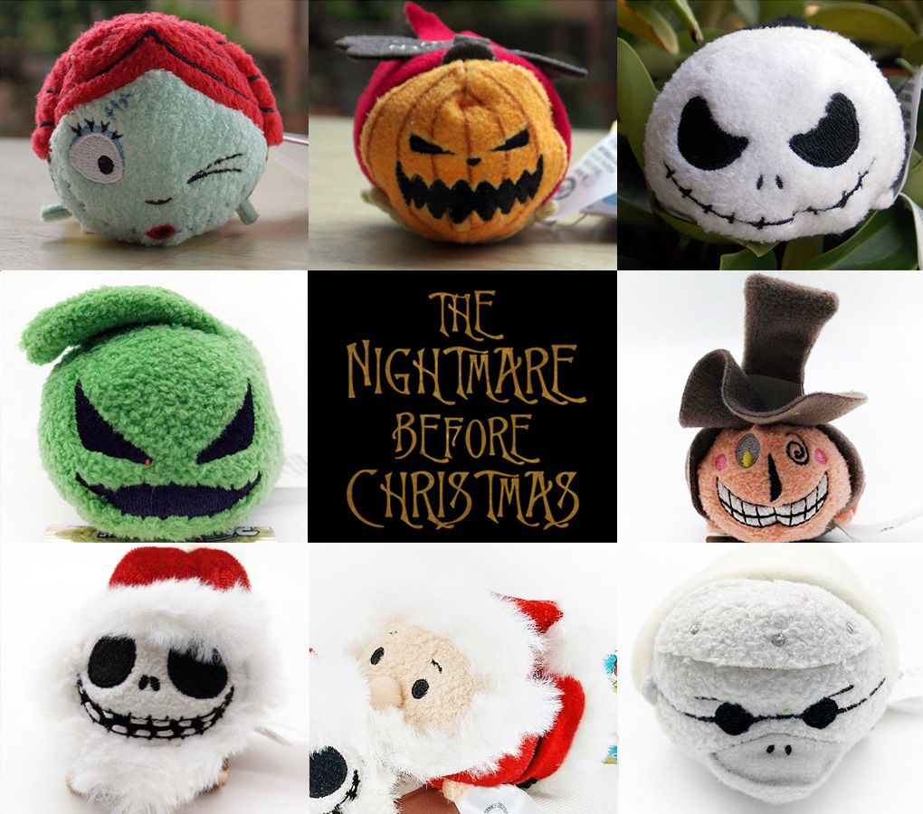 New] The Nightmare Before Christmas Tsum Tsum Collection | Tsum Tsum ...