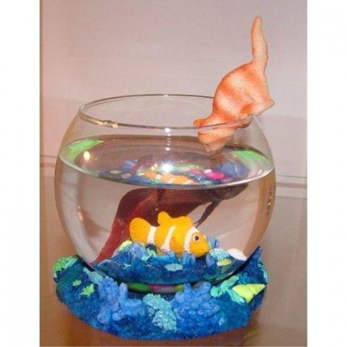 Betta Art Decorative Fish Bowl Best Decorative Betta Fish Bowl Gold Fish Decor Blue #2152  Fishbowls 2018