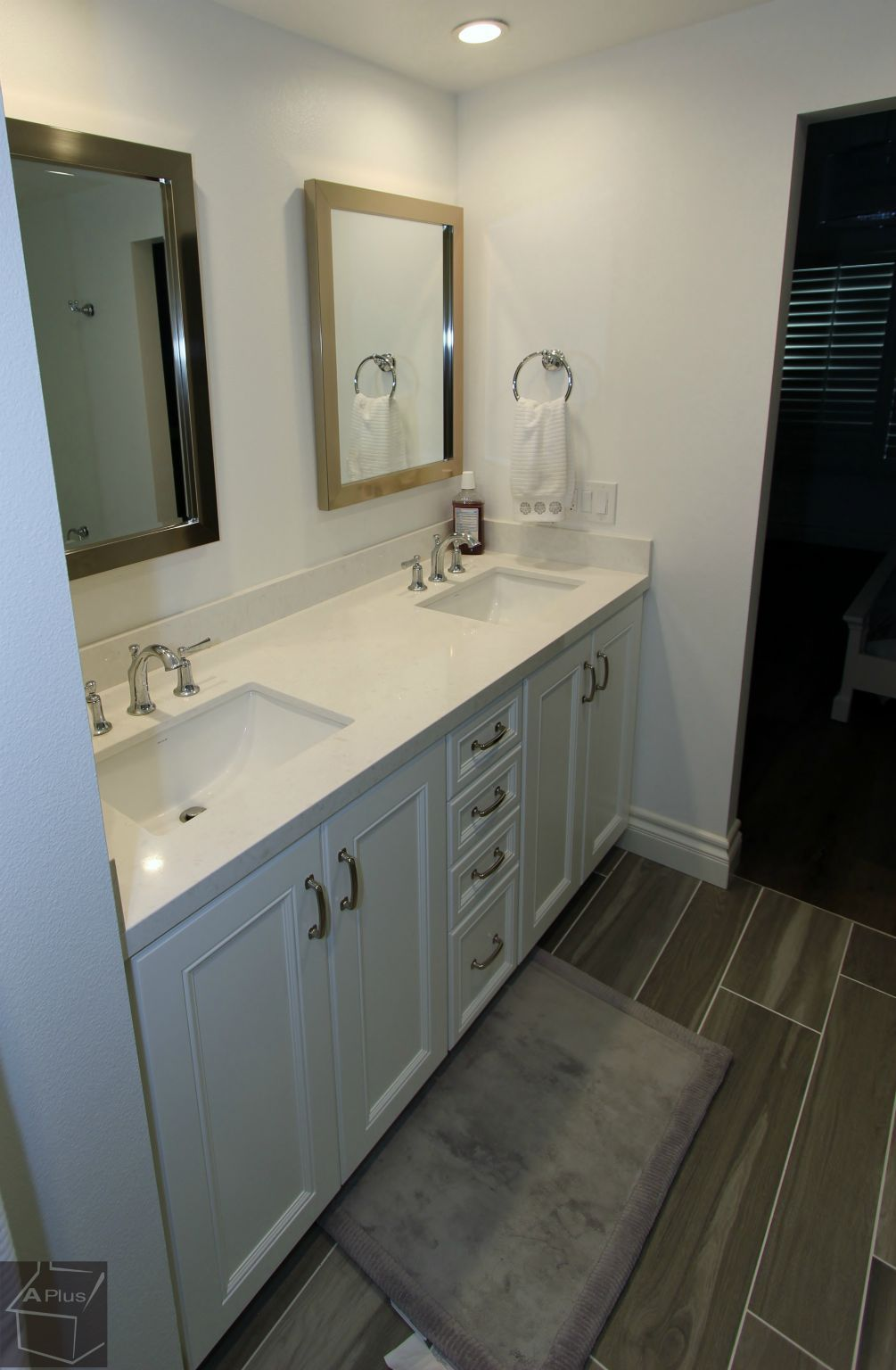 Design Build Transitional Kitchen and Bathroom Remodel in ...