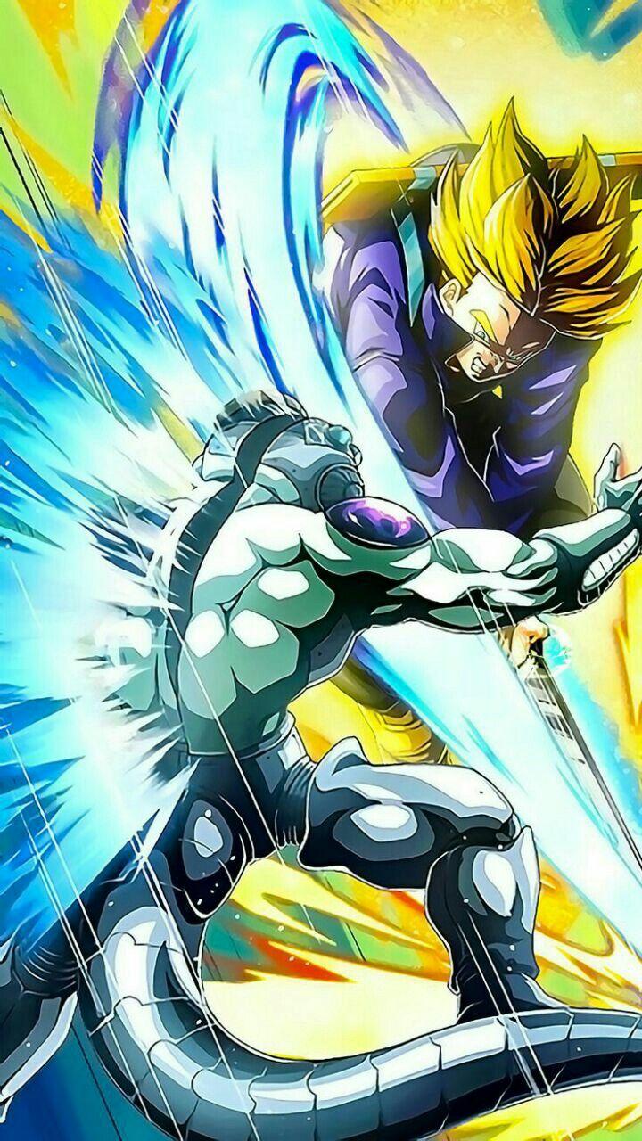 Trunks Vs Freeza Dragon Ball Wallpapers Dragon Ball Artwork Anime Dragon Ball