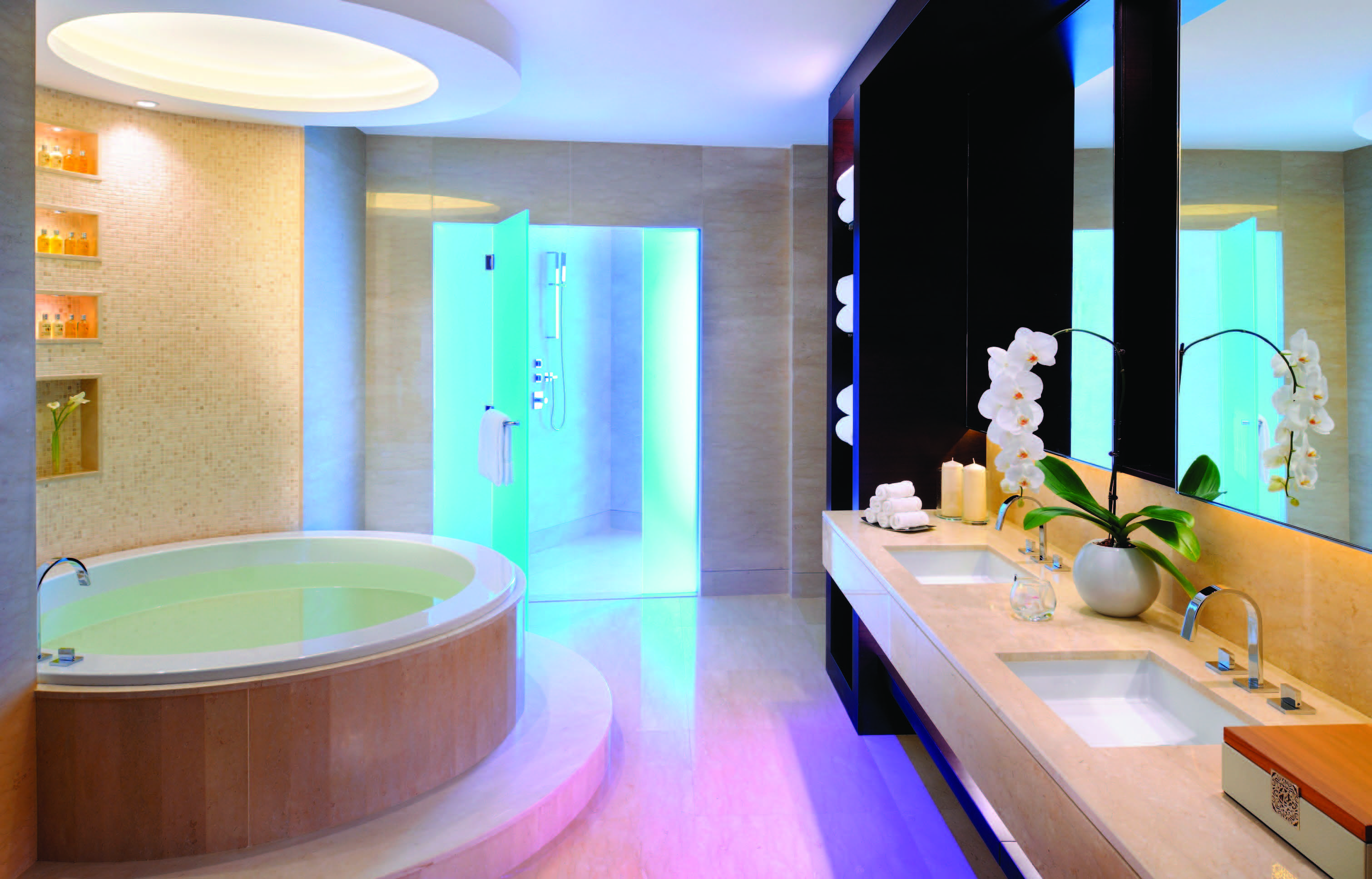 Luxury Bathrooms In Hotels http://www.bagnodesign/news/luxury-bathroom-design-on-a-record