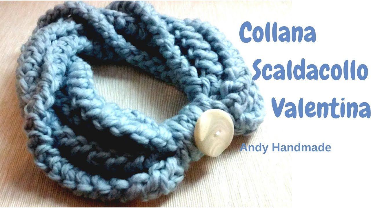 scarpe di separazione 96b8b fe975 Collana Scaldacollo Valentina - uncinetto facile ...