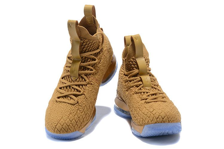 4b1731f5e8 2018 New 2018 Nike LeBron 15 Basketball Shoe Metallic Gold | NIKE ...