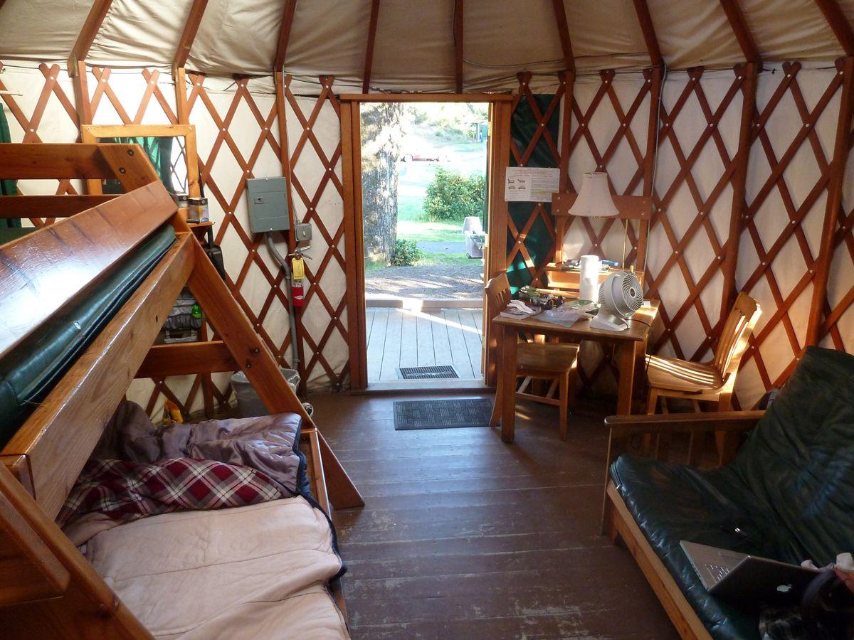 Oregon Coast To The Olympic Peninsula Via Yurts I Want