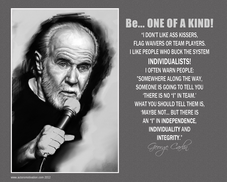 George Carlin George Carlin Carlin Happy Sunday Quotes
