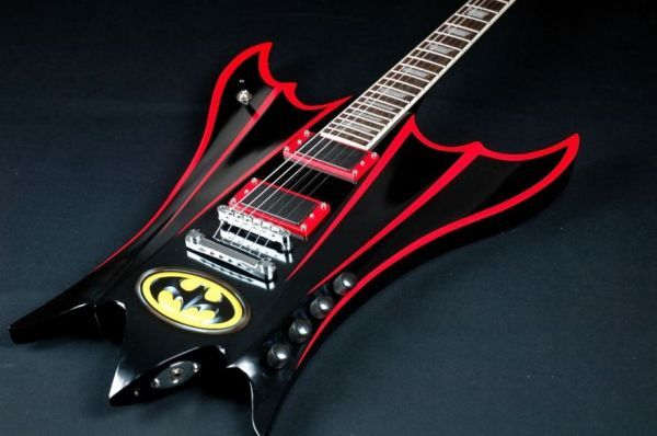 Ali Kat's Custom Guitars Look Like Classic Cars Because They're Made from Classic Car Parts