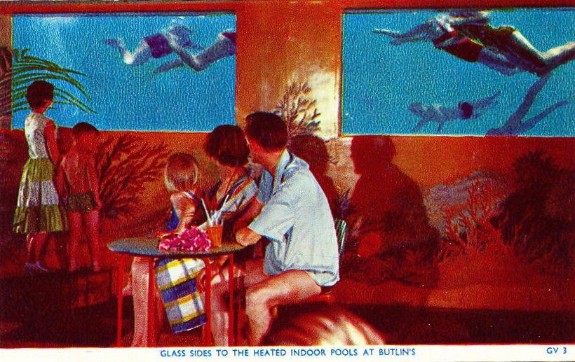 Indoor Pool Butlin 39 S Bognor Regis Davy Jones Locker Bars Mermaid Shows Pinterest
