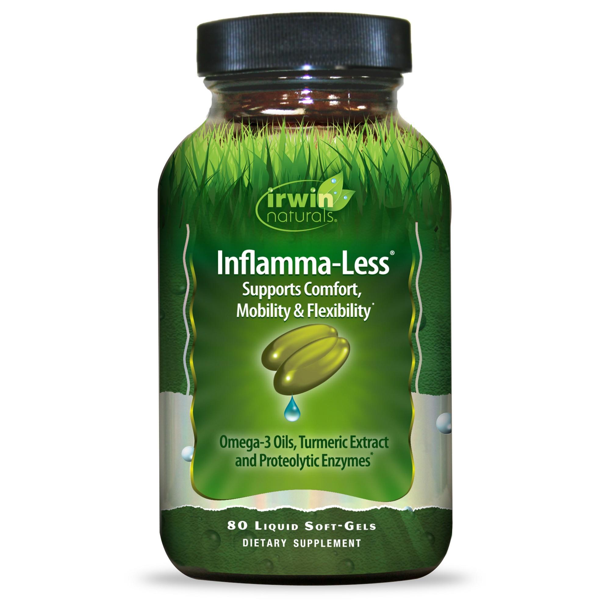 irwin naturals Inflamma-Less Dietary Supplement Li