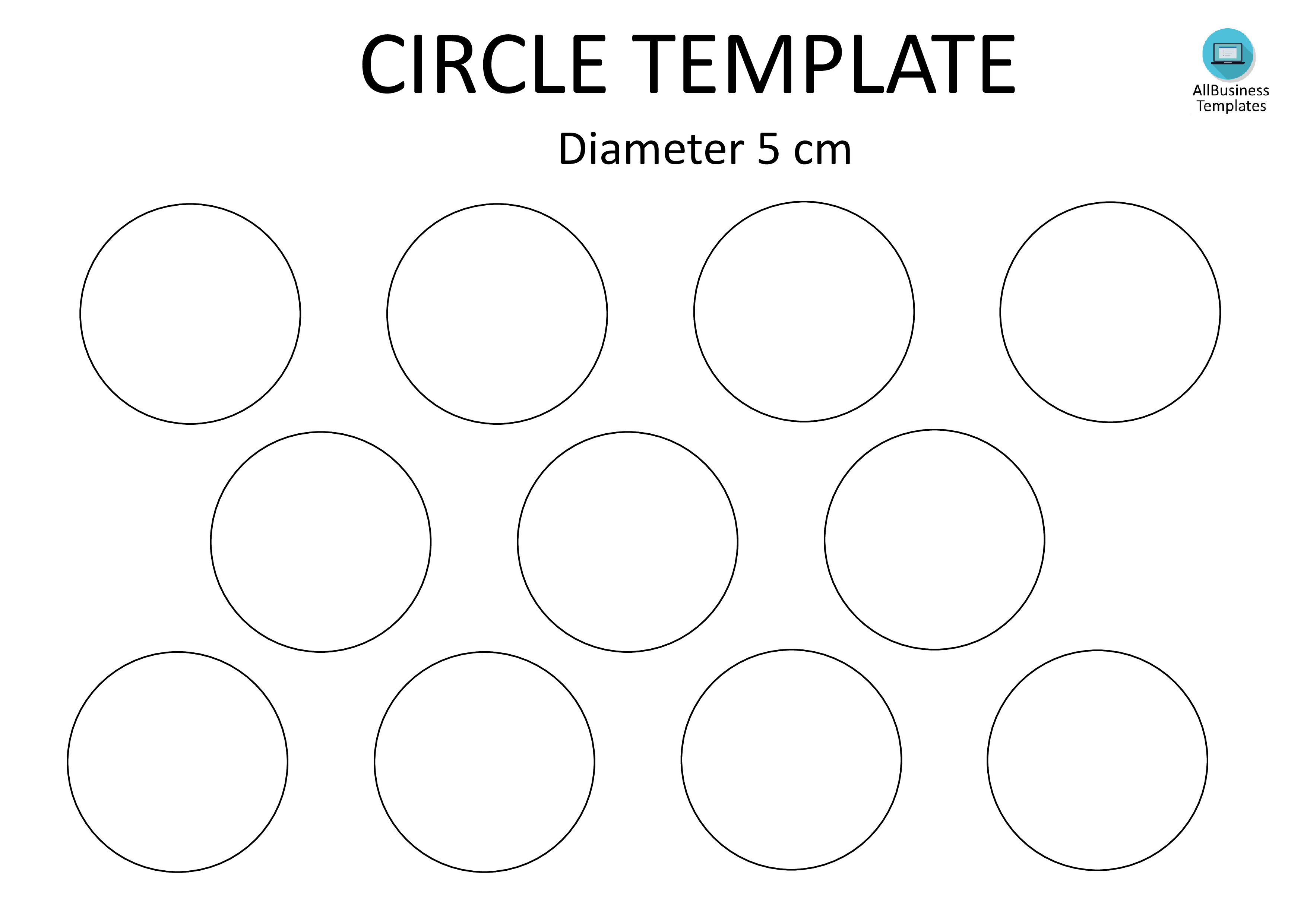Circle Template A Cm  Looking For A  Cm Diameter Circle