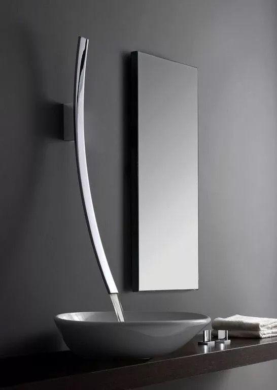 Pin By Sfa 233 On Dizajn Interera Modern Bathroom Sink Faucet Design Modern Bathroom Design