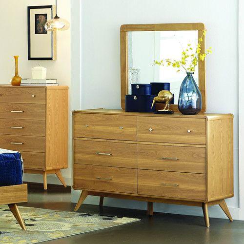 Found it at Wayfair - Garvey 6 Drawer Dresser with Mirror
