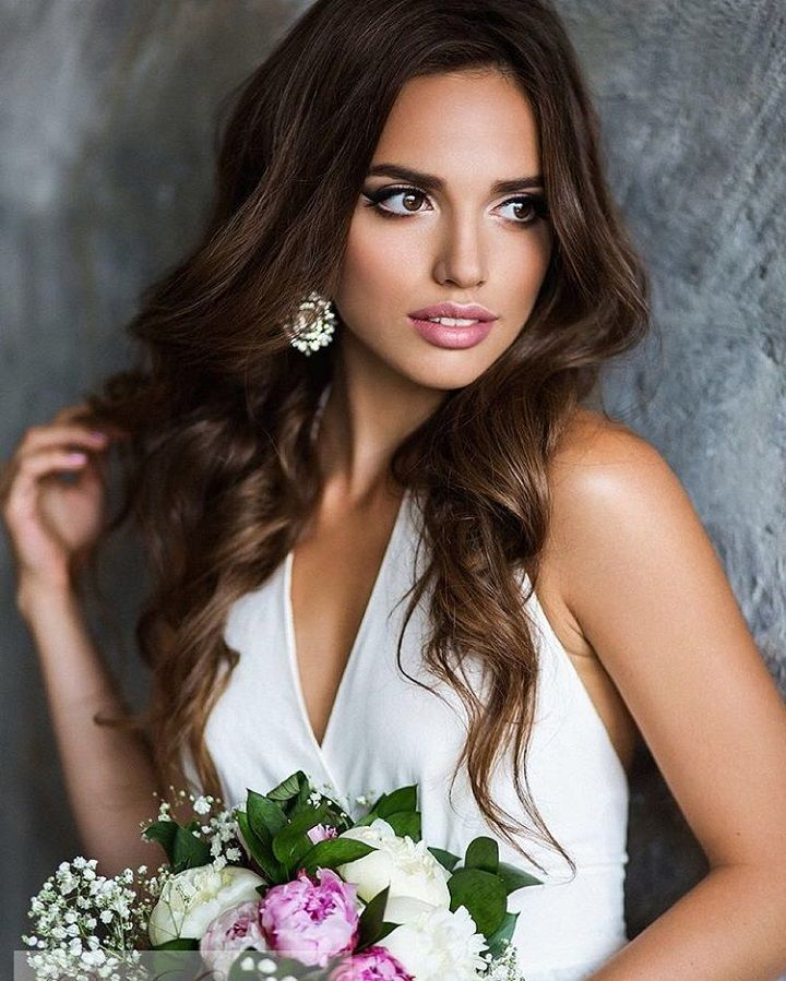 bridal hairstyle #weddinghair #weddinghairstyle #hairstyle #longhair