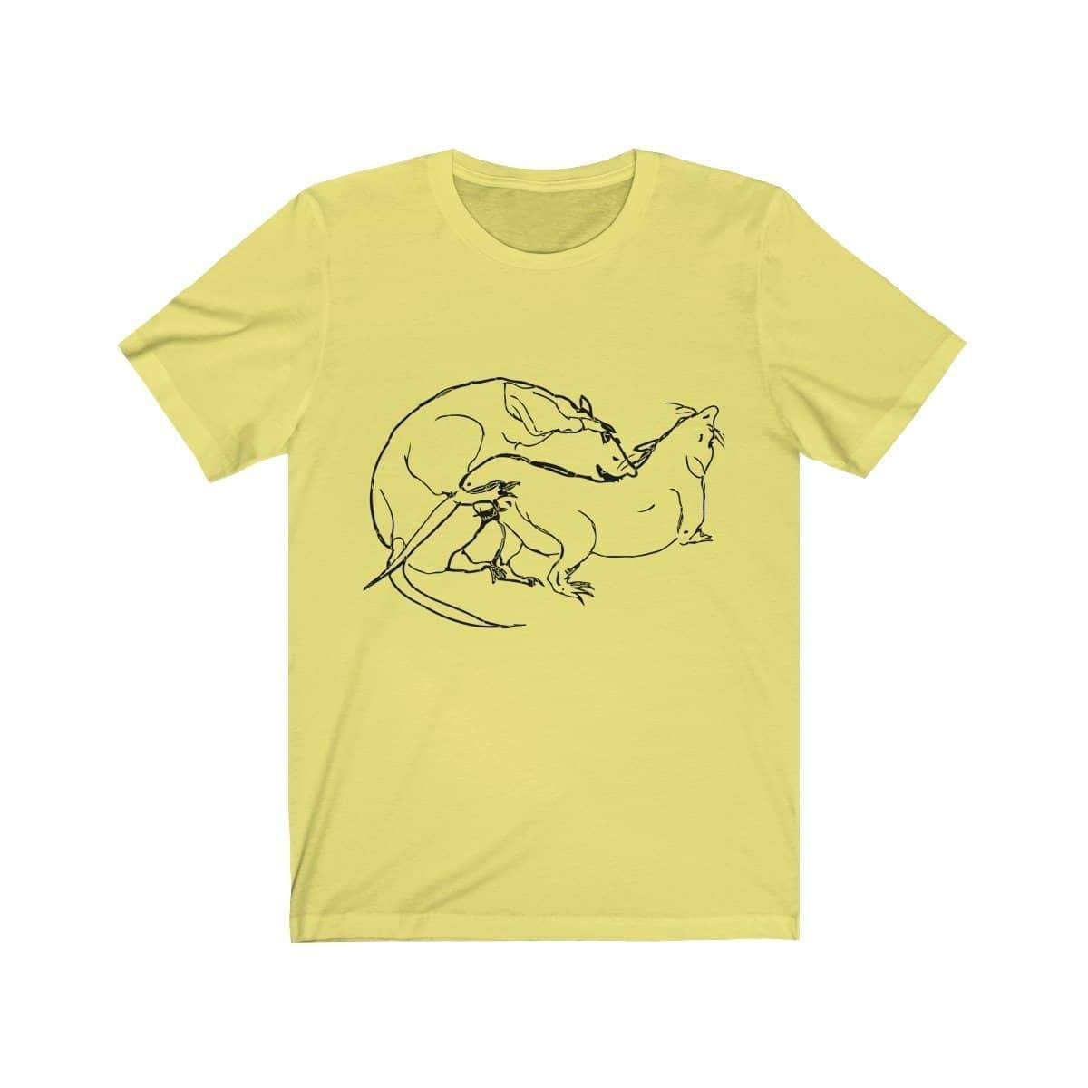 Limited Edition 100% cottonunisex t shirtby visual artist Weisstub !  Free Shipping Topqualityprint - Made in USA  This updated unisex essential fits like a well-loved favorite. Super soft cotton and excellent quality print .  .: Retail fit .: 100% Soft cotton .: Light fabric (4.2 oz/yd² (142 g/m²)) .: Tear away label .: Runs true to size     XS S M L XL 2XL 3XL     Width, in 17 18 20 23 25 26 28   Length, in 28 28 30 30 32 33 33   Sleeve length, in 9 9 10 10 10 10